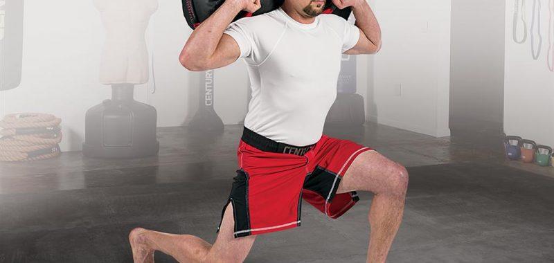 entrainement sac lesté musculation